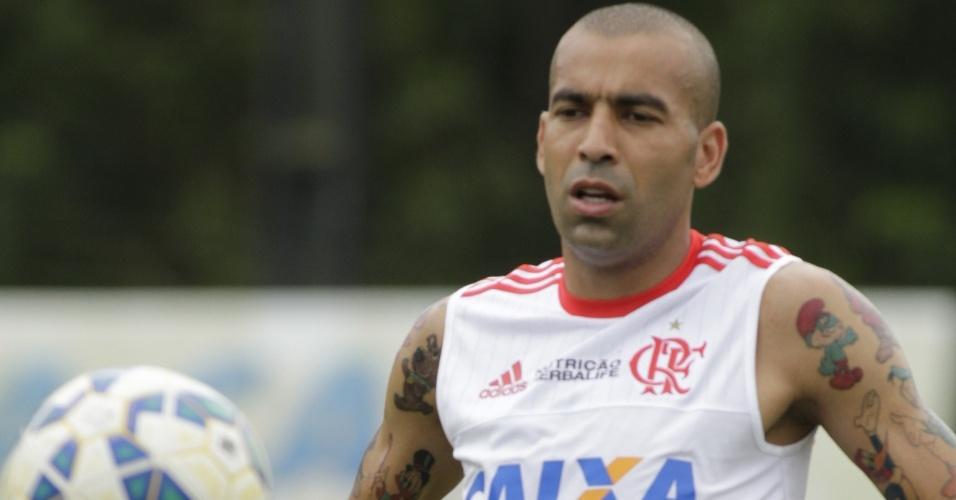 Novas tatuagens foram notadas durante treino do Flamengo