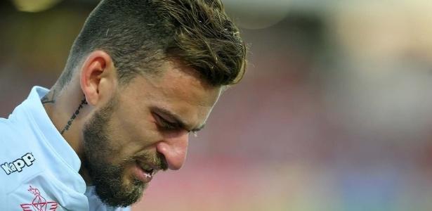 Meia Lucas Lima sofreu um edema no músculo superior da coxa esquerda  - Ivan Storti/ Santos FC