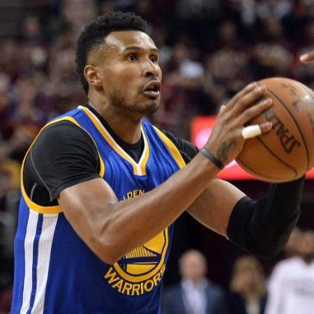 Leandrinho foi campeão da NBA pelo Golden State - Ken Blaze / USA Today Sports