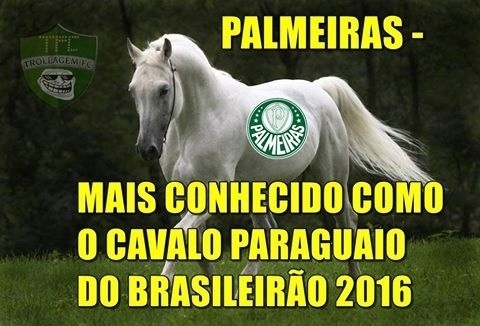 Rivais tiram sarro da derrota do Palmeiras