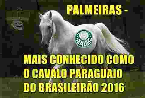 Rivais tiram sarro da derrota do Palmeiras  - Reprodução