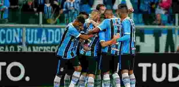 Grêmio tem 83% de aproveitamento no Brasileirão e vive grande fase no ano - LUCAS UEBEL/GREMIO FBPA