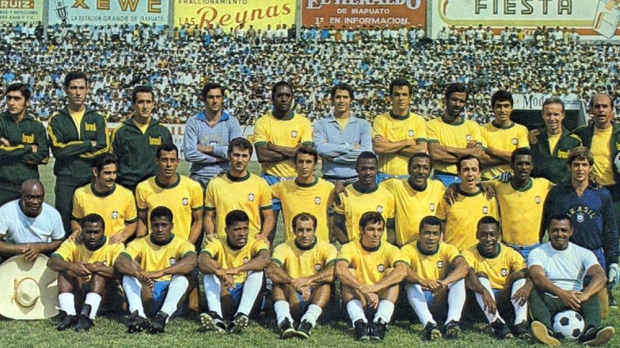 Delegação do Brasil na Copa do Mundo de 1970 - Arquivo pessoal/Família de Cláudio Coutinho