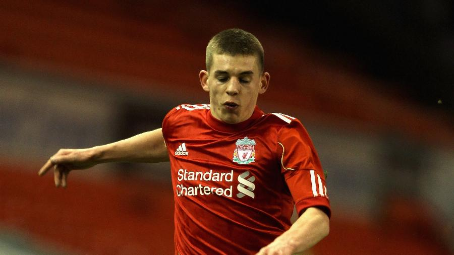 Jonathon Flanagan , lateral do Liverpool - Clive Brunskill/Getty Images