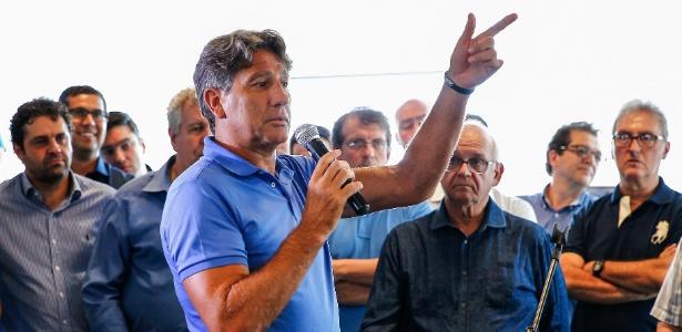 Renato Gaúcho espera mais reforços para o elenco do Grêmio de olho na temporada 2018