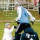 """James Rodríguez """"se estranha"""" com companheiro em treino do Bayern"""
