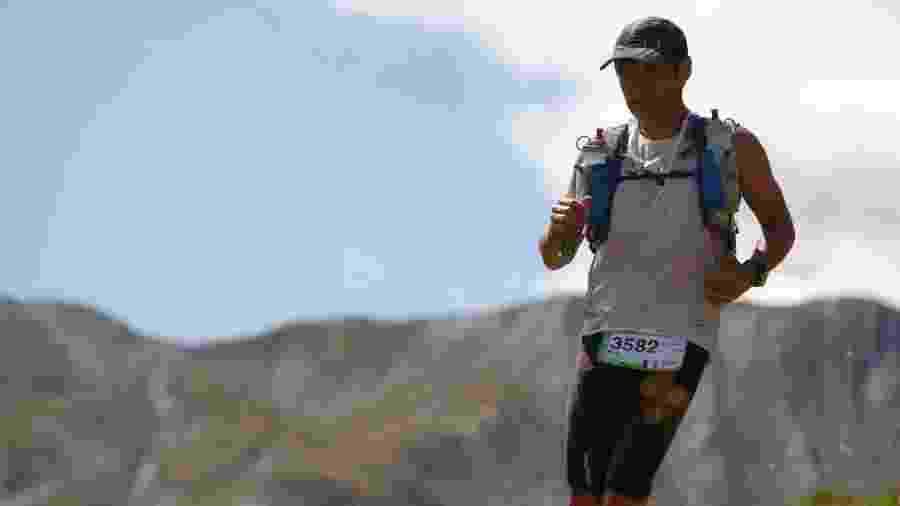 Eric Welterlin, atleta de ultramaratonas, se perdeu em montanha de São Paulo - Reprodução