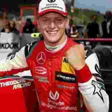 Mick Schumacher comemora vitória na etapa da Bélgica da Fórmula 3 Europeia - Divulgação