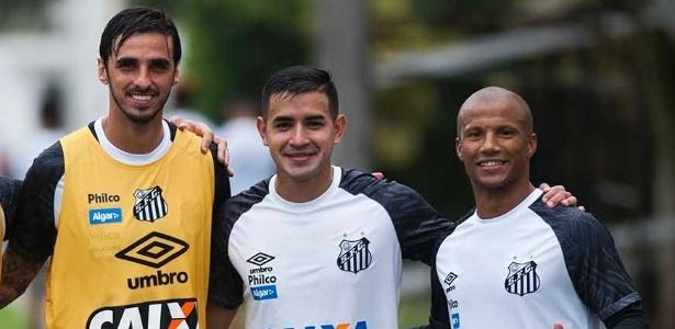 Bryan Ruiz, Derlis e Sánchez seguem de fora pois defendem suas seleções em amistosos - Ivan Storti/SantosFC