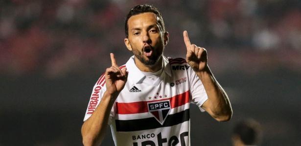 Nenê fez apenas um dos seus oito gols no Brasileirão no segundo turno da competição