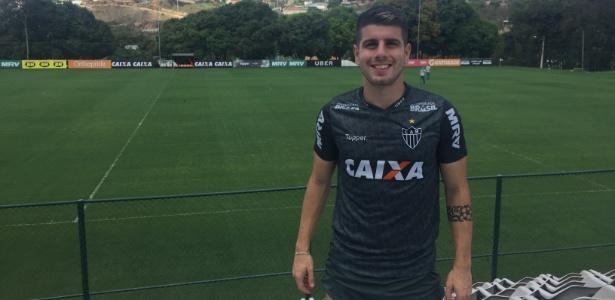 Tomás Andrade, meia-atacante do Atlético-MG, posa para o UOL Esporte - Thiago Fernandes/UOL Esporte