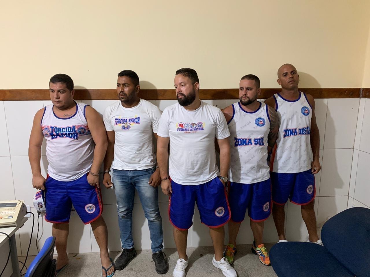 Presidente e integrantes da Bamor são presos após espancarem torcedor do Vitória