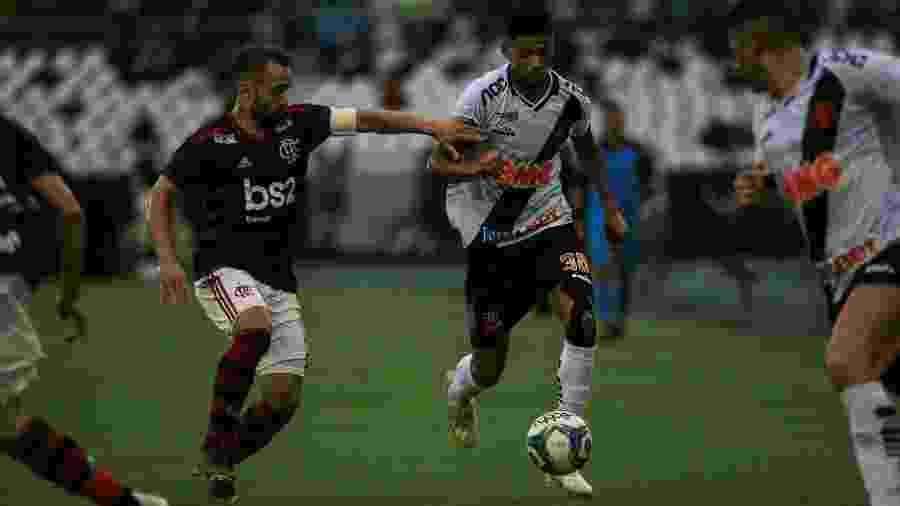 Atacante Marrony deverá ser mantido entre os titulares do Vasco na final do Carioca contra o Flamengo - Jotta de Mattos/AGIF