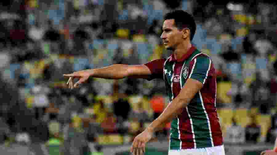 Ganso, meia do Fluminense, no empate com o Flamengo - Mailson Santana / Fluminense FC