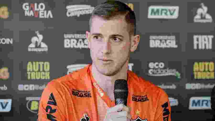 Ex-volante Adilson seguirá no Atlético-MG mesmo após aposentadoria - Bruno Cantini/Divulgação/Atlético-MG