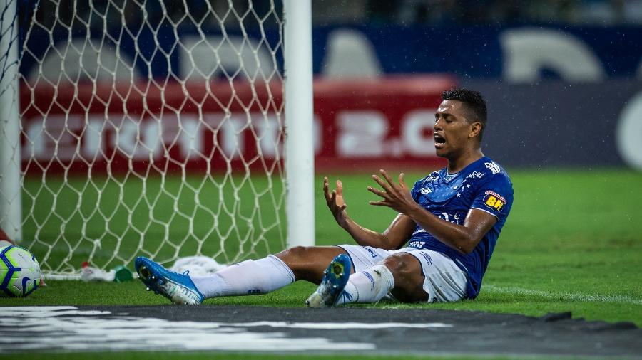 Atacante Pedro Rocha, em partida do Cruzeiro - Bruno Haddad/Cruzeiro