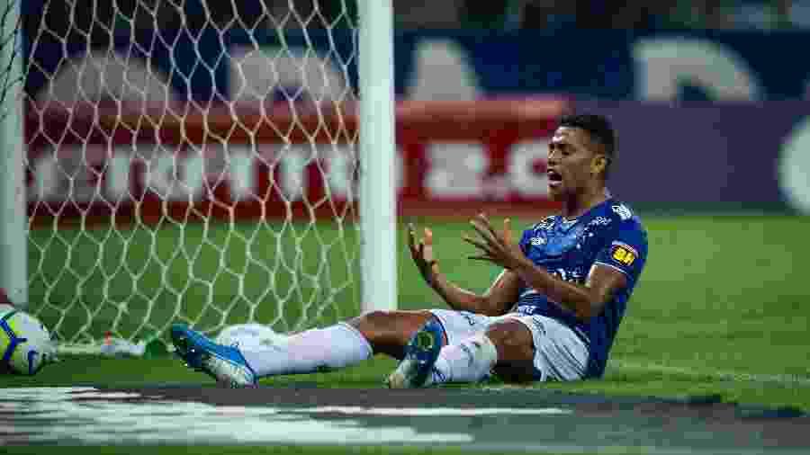 Atacante Pedro Rocha, ex-Cruzeiro, defendeu o clube por empréstimo em 2019 - Bruno Haddad/Cruzeiro