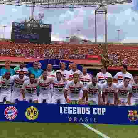 São Paulo enfrentará o Bayern de Munique no jogo das lendas - Divulgação/São Paulo