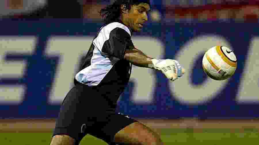 Juan Carlos Henao, goleiro colombiano que passou pelo Santos - Reprodução