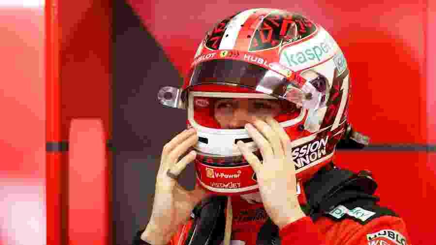 Leclerc é oitavo colocado no campeonato após nove etapas - REUTERS/Albert Gea