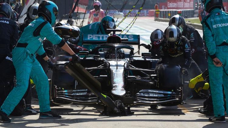 parada en boxes - Steve Etherington / Mercedes - Steve Etherington / Mercedes