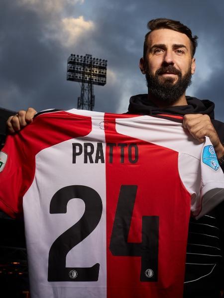 Lucas Pratto, atacante do Feyenoord - Divulgação/Feyenoord