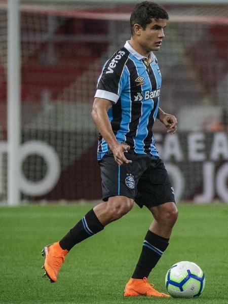Felipe foi titular nos dois jogos contra o Independiente del Valle - Lucas Uebel/Grêmio