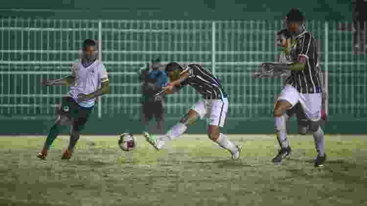 Boavista recebeu o Fluminense no Estádio Elcyr Resende, em Saquarema - Lucas Merçon / Fluminense F.C. - Lucas Merçon / Fluminense F.C.