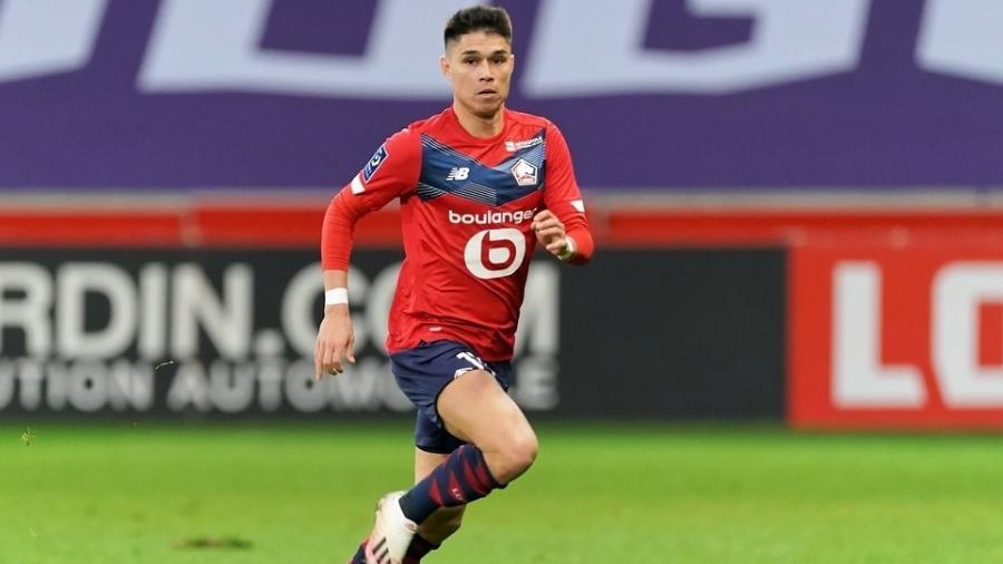 Luiz Araújo defende o Lille, líder do Campeonato Francês - Sylvain Lefevre/Getty Images