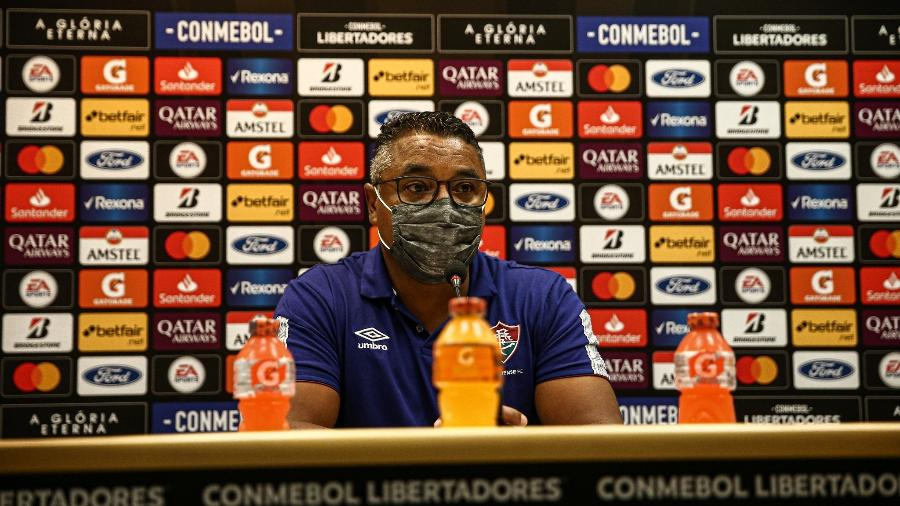 Roger Machado viu boa atuação do Fluminense em estreia na Libertadores - Lucas Merçon/Fluminense FC
