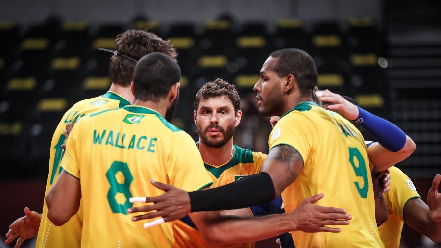O capitão Bruninho disputa a quarta Olimpíadas da carreira e vai em busca de um recorde - Gaspar Nóbrega/COB/Gaspar Nóbrega/COB