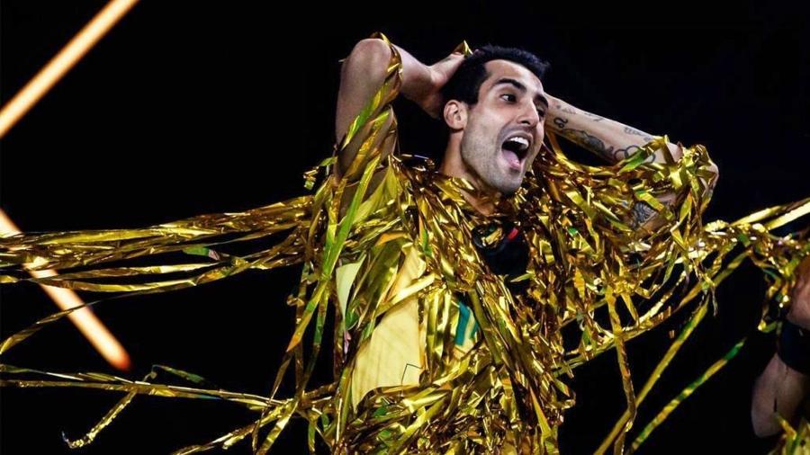 Douglas Souza, ponteiro da seleção brasileira masculina de vôlei - Reprodução/Instagram