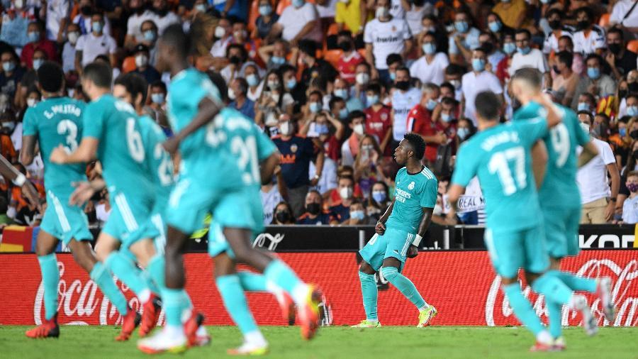 O Real Madrid recebe o Mallorca no Santigo Bernabéu - Aitor Alcalde/Getty Images