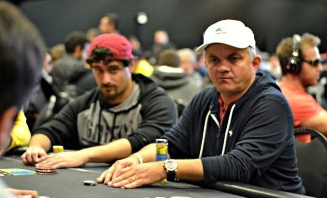 Piragibe Lindolfo é de Belém do Pará e se divide entre o pôquer e sua empresa de metalurgia