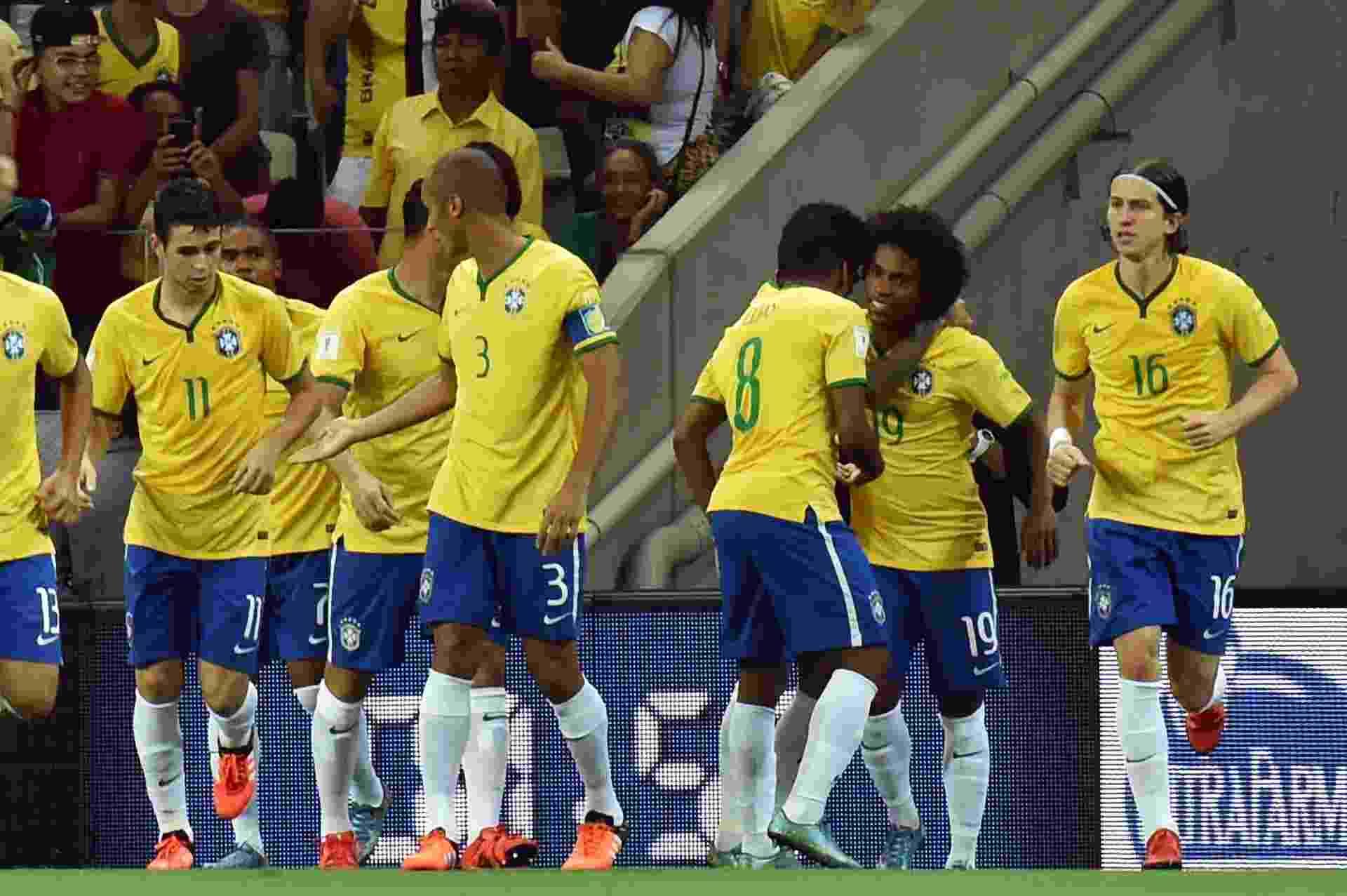 Brasil abre o placar contra a Venezuela aos 36 segundos  assista ao ... 3071b834c1cf3