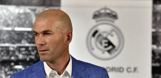 Filhos de Zidane estariam entre as contratações polêmicas do Real Madrid - AFP PHOTO/ GERARD JULIEN