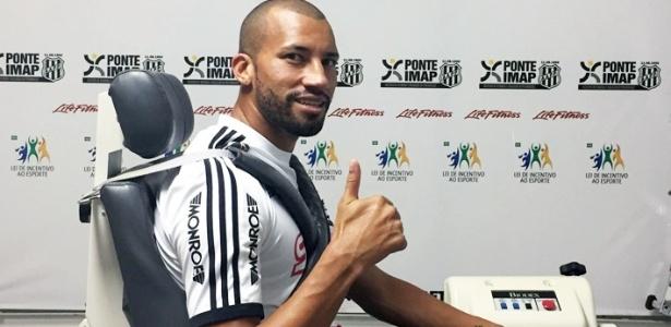 Zagueiro Kadu segue na Ponte Preta na temporada de 2017