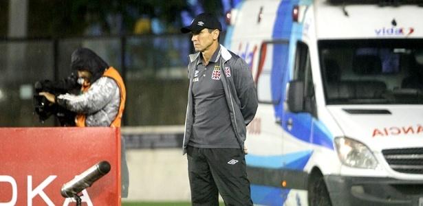 Jorginho tem se preocupado em somar vitórias na Série B com o Vasco