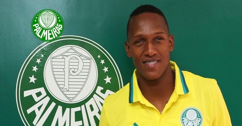 Yerry Mina (zagueiro) - do Independiente Santa Fe para o Palmeiras
