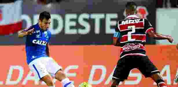 Sánchez Miño, lateral esquerdo do Cruzeiro - Anderson Stevens/Light Press/Cruzeiro - Anderson Stevens/Light Press/Cruzeiro