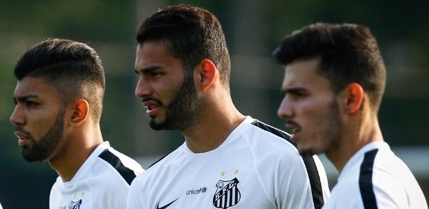 Gabigol, Thiago Maia e Zeca estão na mira do futebol europeu, mas só um tem propostas