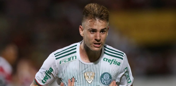 Róger Guedes recebeu uma valorização salarial do Palmeiras