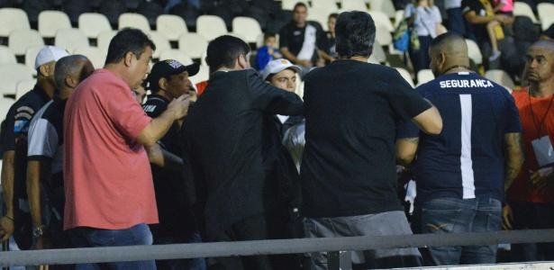 Último jogo do Vasco foi marcado por clima tenso