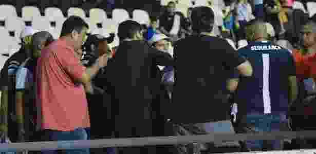 Último jogo do Vasco foi marcado por clima tenso - Celso Pupo/FotoArena/Estadão Conteúdo