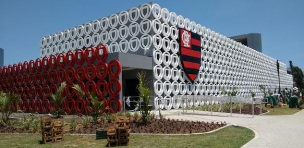 Módulo profissional do centro de treinamento do Flamengo foi inaugurado este mês