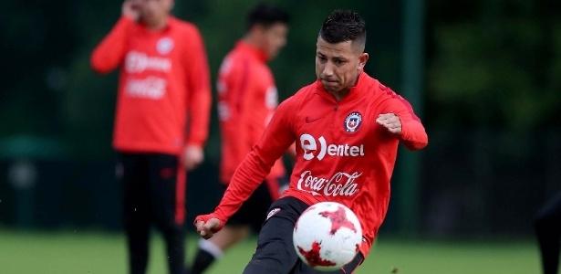 Leo Valencia esteve com a seleção chilena na Copa das Confederações