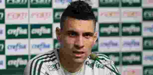 Moisés evita falar sobre a briga pelo título do Campeonato Brasileiro - Cesar Greco/Ag. Palmeiras