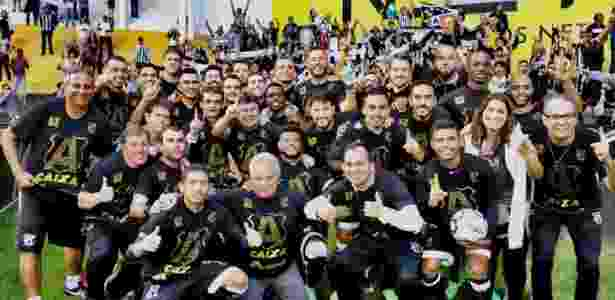 Ceará comemora acesso para a Série A - Christian Alekson/cearasc.com - Christian Alekson/cearasc.com