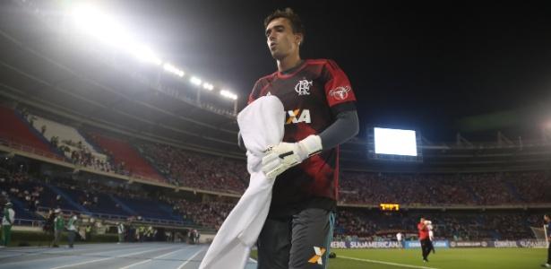 César foi um destaque na classificação do Flamengo para a final da Copa Sul-Americana