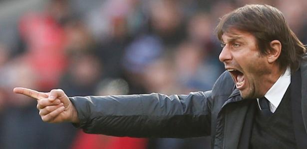 Antonio Conte não tem boa relação com David Luiz